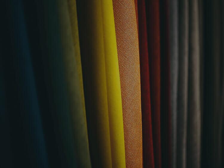 Широка гама от платове предлагани от Engel Textil GmbH.